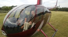Baptème de l'Air en Hélicoptère à Saint Etienne ou Roanne