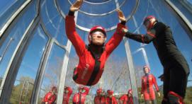 Simulateur de chute libre en soufflerie Indoor à Toulouse