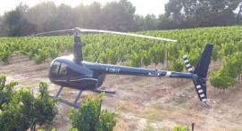 Vol en Hélicoptère au-dessus de l'Aveyron