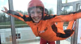 Simulateur de chute libre à Rennes