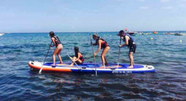 Stand up paddle dans le golfe de Saint Tropez