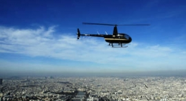 Vol d'initiation au pilotage d'hélicoptère à Toussus le Noble