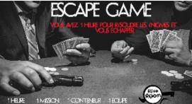 La Prohibition Escape Game Conteneur Éphémère à Messanges