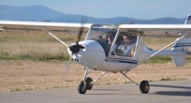Initiation au pilotage d'avion léger à Alès