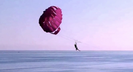 Vol en parachute ascensionnel seul, à deux ou à trois à Argeles sur Mer