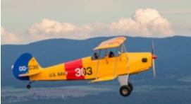 Initiation au pilotage d'avion léger Biplan ou Ailes Hautes à Épinal