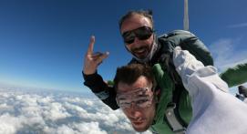 Saut en Parachute près de Poitiers