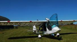 Initiation au pilotage d'ULM en Poitou-Charentes - Vol près de Poitiers