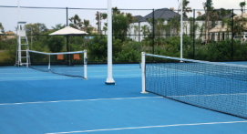2 heures de location d'un terrain de Tennis à Rouen