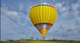 Vol en montgolfière dans les pyrénées orientales