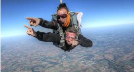 Saut en Parachute à proximité de Nantes