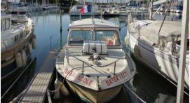Permis bateau côtier à Port Camargue