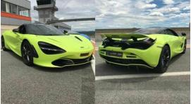 Stage de pilotage McLaren 720S – circuit de château Gaillard