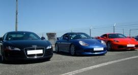 Stage de Pilotage en Audi R8 - Circuit de Pont l'Évêque