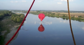 Vol en montgolfière à Chenonceaux