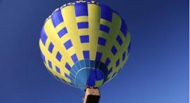 Vol en montgolfière - tour au dessus du Parc Naturel Livradois Forez