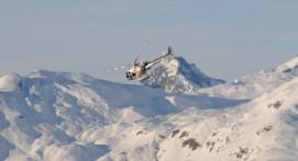 Survol en Hélicoptère du Mont Blanc