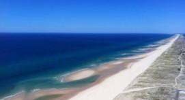 Vol en Hélicoptère à Biscarosse entre terre et mer