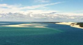 Baptême en Hélicoptère à Biscarrosse et Arcachon : Cap Côte d'Argent