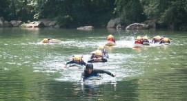 Session d'Hydrospeed près de Bayonne