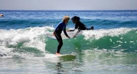 Cours de Surf près de Concarneau