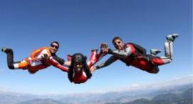 Saut d'initiation PAC en parachute à Gap