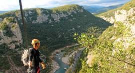 Canyoning dans l'Herault près de Montpellier