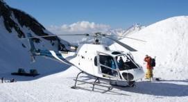 Baptême de l'Air en Hélicoptère au dessus du Massif du Mont Blanc