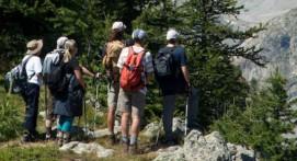 Randonnée pédestre près de Briançon