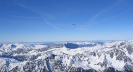 Baptême en Parapente du Plan de l'Aiguille au Mont-Blanc