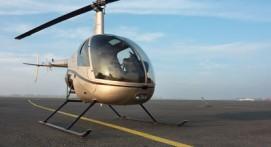 Baptême en Hélicoptère à Étretat