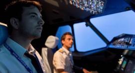 Simulateur d'avion Airbus A320 près de Genève