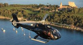 Vol en Hélicoptère type terre et mer à Cannes