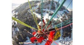 Vol Acrobatique en Parapente à La Clusaz