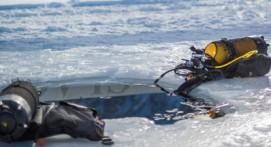 Baptême de plongée sous glace à Tignes