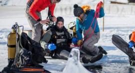 Journée plongée sous glace à Val Thorens