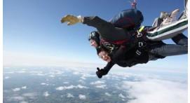 Saut parachute tandem à Sainte Mère Eglise