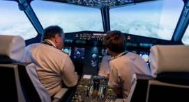 Vol sur simulateur d'avion Airbus A320 près de Metz