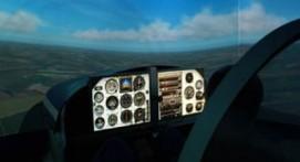 Simulateur vol avion Mans