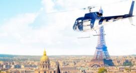 Vol en Hélicoptère à Paris