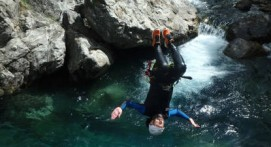 Descente en Canyoning à Lourdes