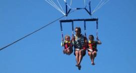 Vol en Parachute Ascensionnel à Saint-Tropez