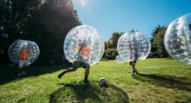 Bubble football en extérieur près de Nantes