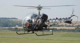 Survol en hélicoptère de Lyon par son cheminement
