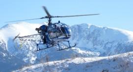 Vol en hélicoptère près de Font-Romeu