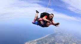 Saut parachute tandem Biarritz