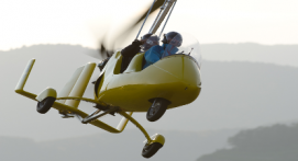 Pilotage d'un ULM Gyrocoptère à Guebwiller