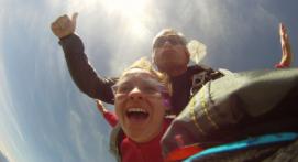 Saut en Parachute Tandem près de Tarbes
