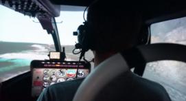 Vol sur simulateur d'hélicoptère Bell 206 près de Metz