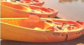 Balade en Kayak sur la plage de la Madrague à Sainte Maxime
